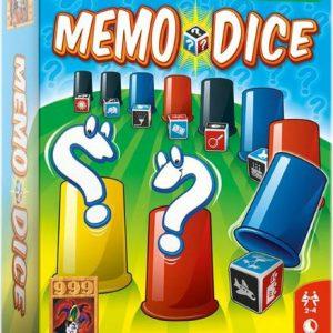 Memo dice voorkant vierkant