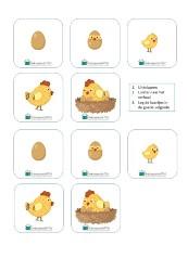 werkboekje Pasen onderbouw kip en ei