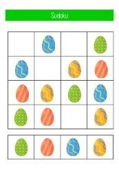 werkboekje Pasen onderbouw sudoku