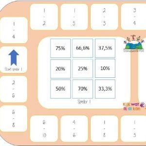 bingo breuken procenten kommagetallen