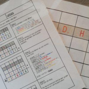 wisbordje DHTE-schema