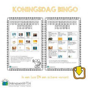koningsdag bingo