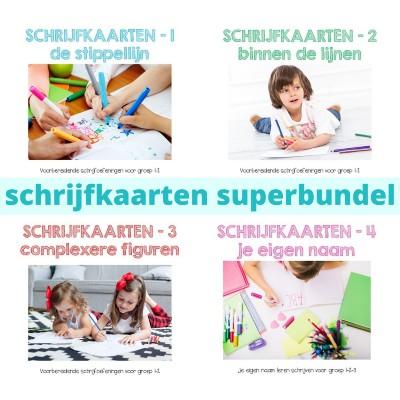 schrijfkaarten superbundel