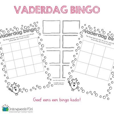 Vaderdag bingo