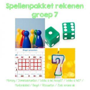 spellenpakket rekenen groep 7
