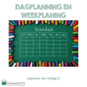 dagplanning weekplanning