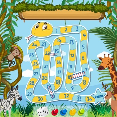 slangen en ladders groep 5 tot en met 8