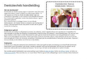 Denksleutels thema Sinterklaas