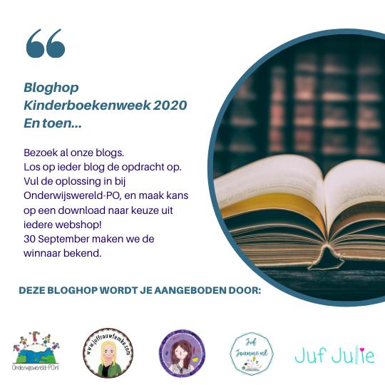 Bloghop Kinderboekenweek 2020