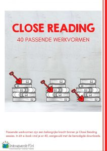 werkvormen close reading