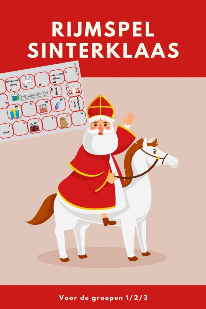 Rijmspel Sinterklaas