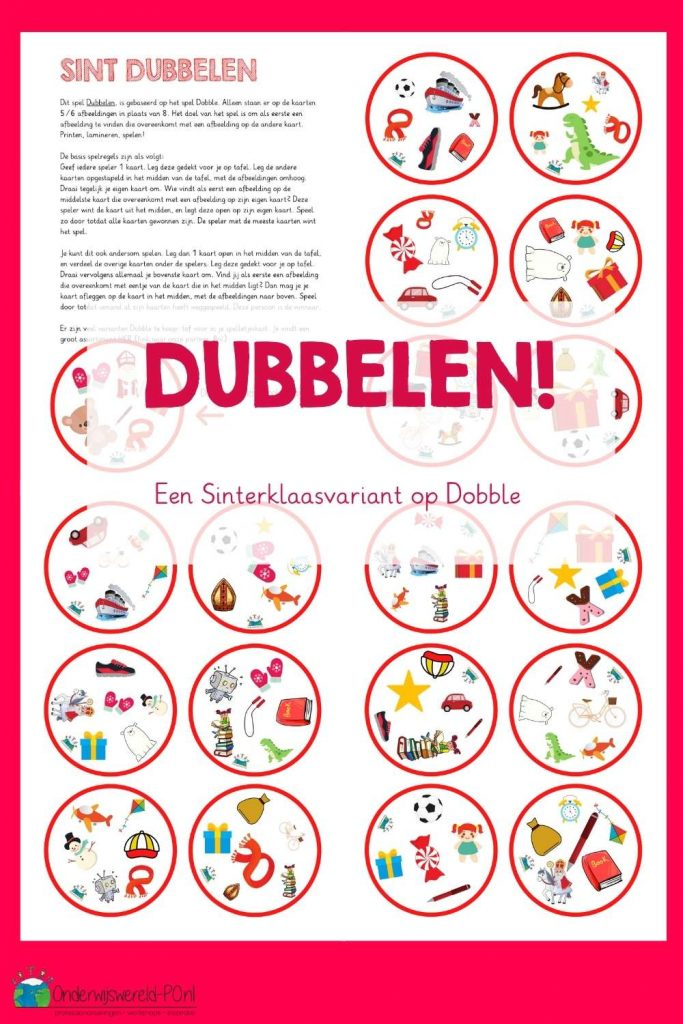Sinterklaas Dobble