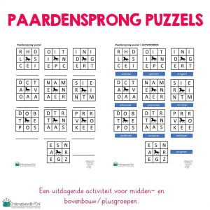 paardensprong puzzels