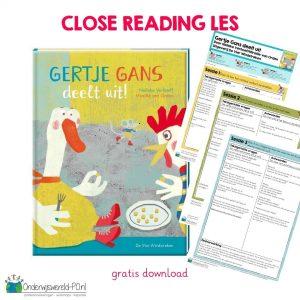 Gertje Gans deelt uit