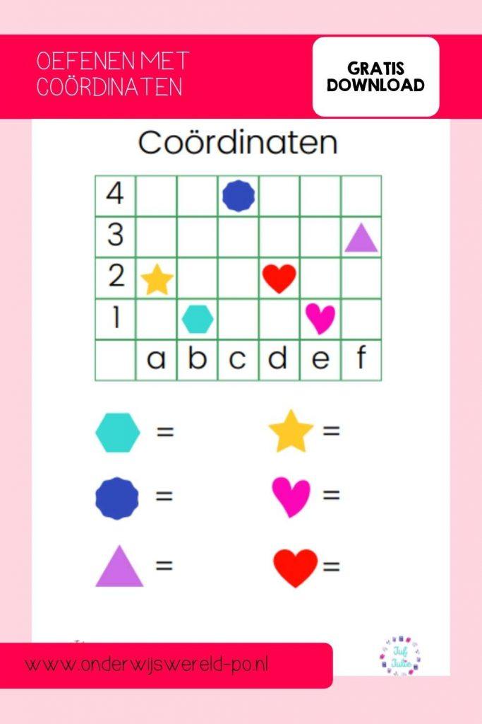 coördinaten groep 2