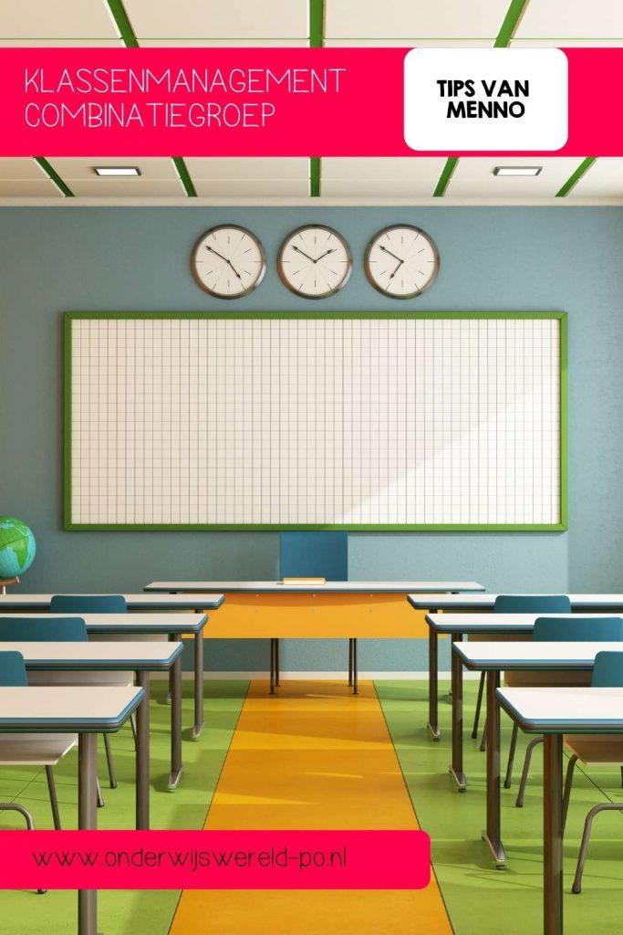 Klassenmanagement combinatiegroep