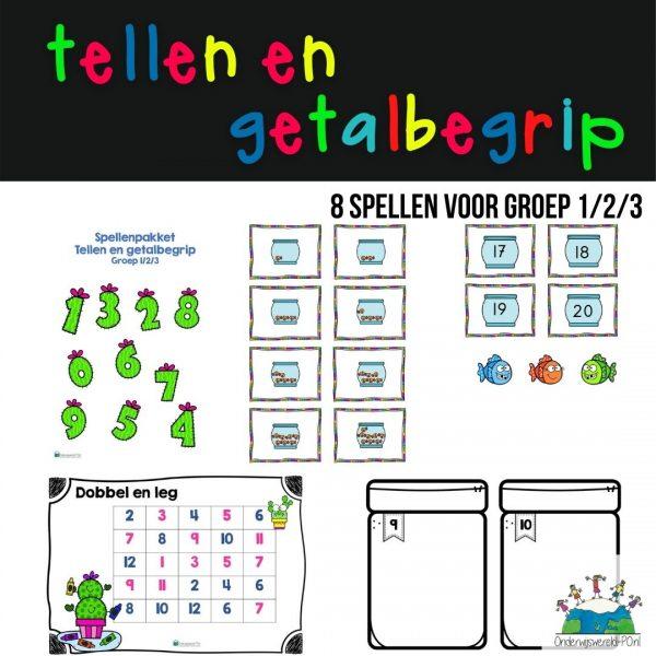 spellenpakket tellen en getalbegrip